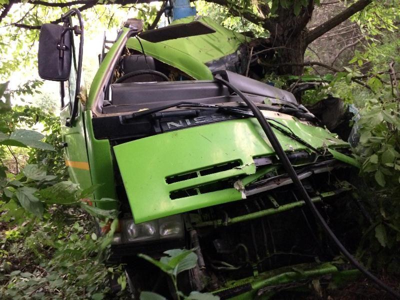 Встолкновении иномарки сэвакуатором наСтаврополье погибли два человека
