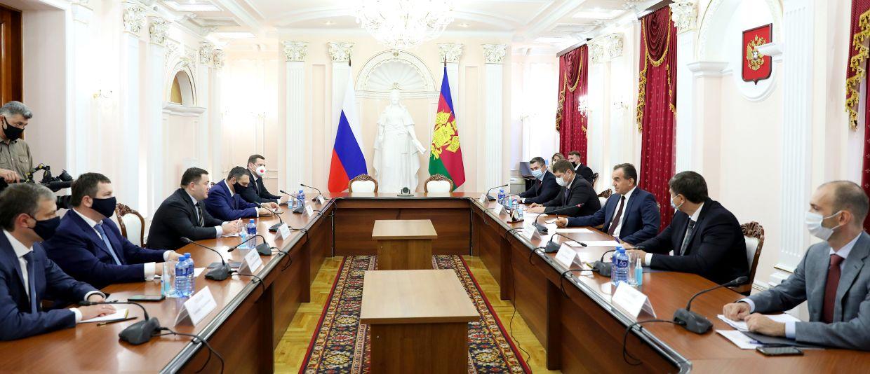 ©Изображение пресс-службы администрации Краснодарского края