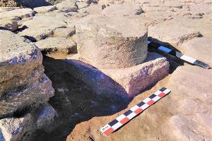 Древний алтарь, найденный в окрестностях Анапы ©Фото с сайта администрации Краснодара