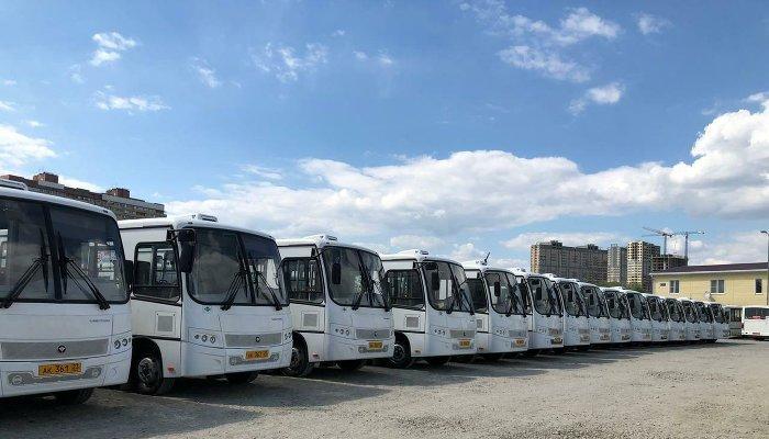Почему в Новознаменском дошколы дети ехали в забитых маршрутках вместо автобусов ибудет ли иначе? Объясняем