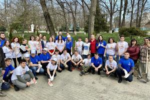 Волонтеры «ЕвроХим-БМУ» ©Фото Антона Быкова