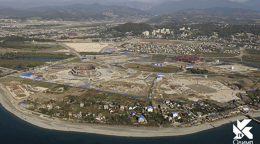 Объекты Олимпийского парка. Фото: Олимпстрой ©Фото Юга.ру