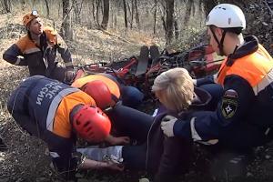 ©Скриншот из видео пресс-службы ЮРПСО МЧС России