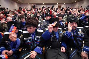 Выборы казачьего атамана в Ставрополе ©Эдуард Корниенко, ЮГА.ру