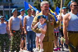 День ВДВ в Краснодаре ©Фото Елены Синеок, Юга.ру