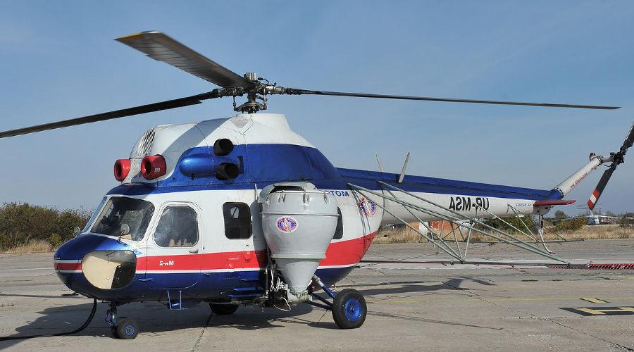 Вертолет МИ-2 ©Фото с сайта wikimedia.org