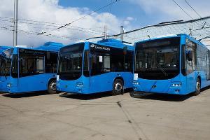 Троллейбусы из Вологды ©Фото предоставлено пресс-службой администрации Краснодара
