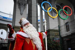 Российский Дед Мороз приехал в Олимпийский Сочи ©Фото Юга.ру