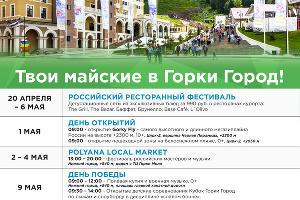 ©Графика пресс-службы курорта «Горки Город»