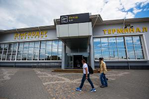 Открытие новой взлетно-посадочной полосы в аэропорту Краснодара ©Фото Елены Синеок, Юга.ру