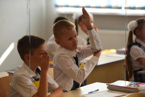 Первый звонок в школе №11 г.Краснодара ©Фото Елены Синеок, Юга.ру