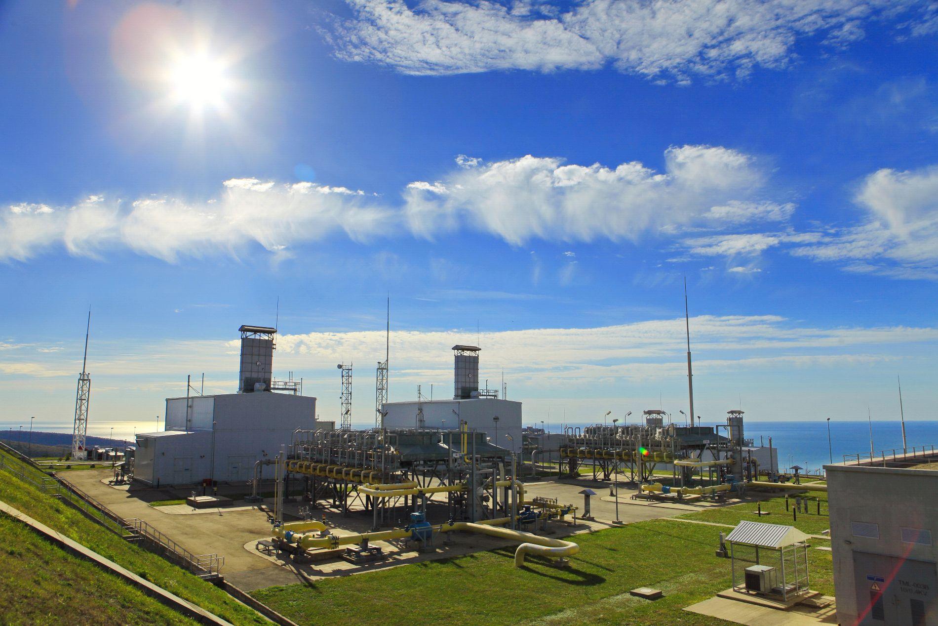 Компрессорная станция «Береговая» ©Фото предоставлено пресс-службой ООО «Газпром трансгаз Краснодар»