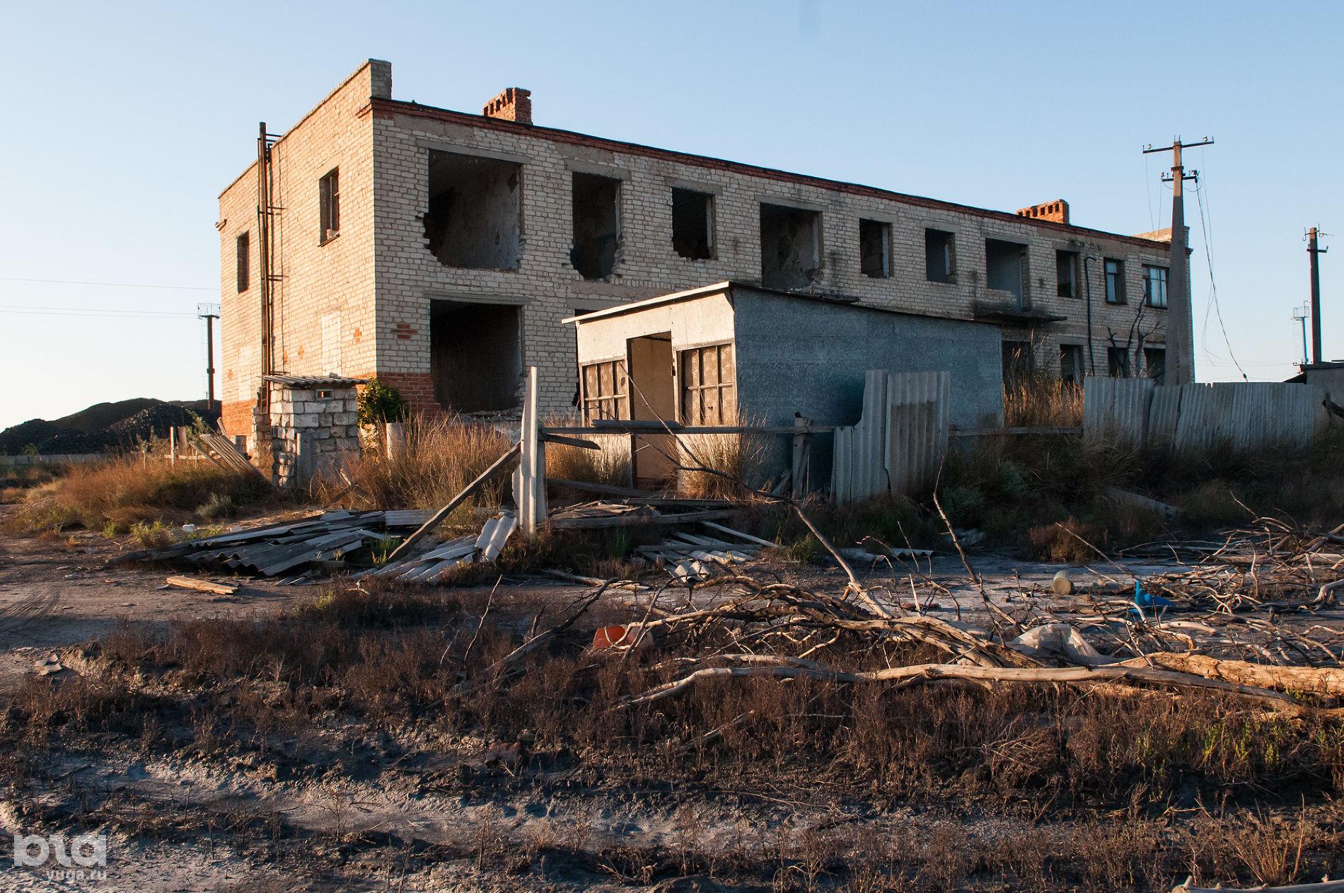 Поселок Чушка, улица Железнодорожная ©Фото Елены Синеок, Юга.ру