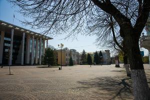 Краснодар, Пушкинская площадь ©Фото Евгения Мельченко, Юга.ру