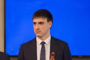 Артем Аганов ©Фото пресс-службы администрации Краснодара
