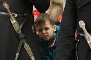 Мальчик в кафедральном соборе Казанской иконы Божией Матери в Ставрополе ©Фото Юга.ру