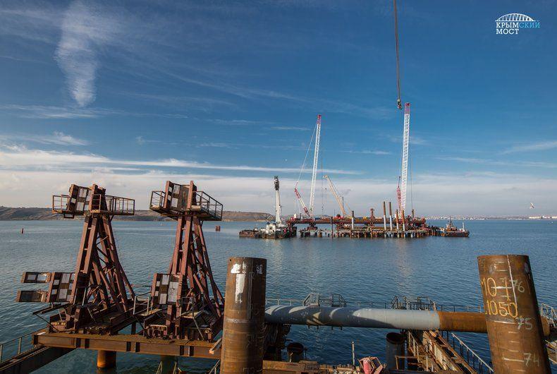 Никто нежелает строить подходы кКерченскому мосту воккупированном Крыму