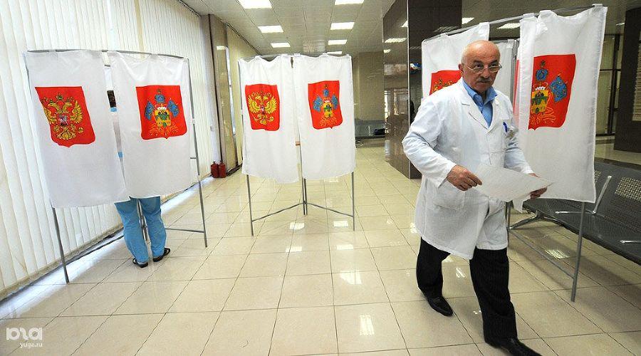 Выборы в Краснодаре, 2011 год ©Фото Елены Синеок, Юга.ру