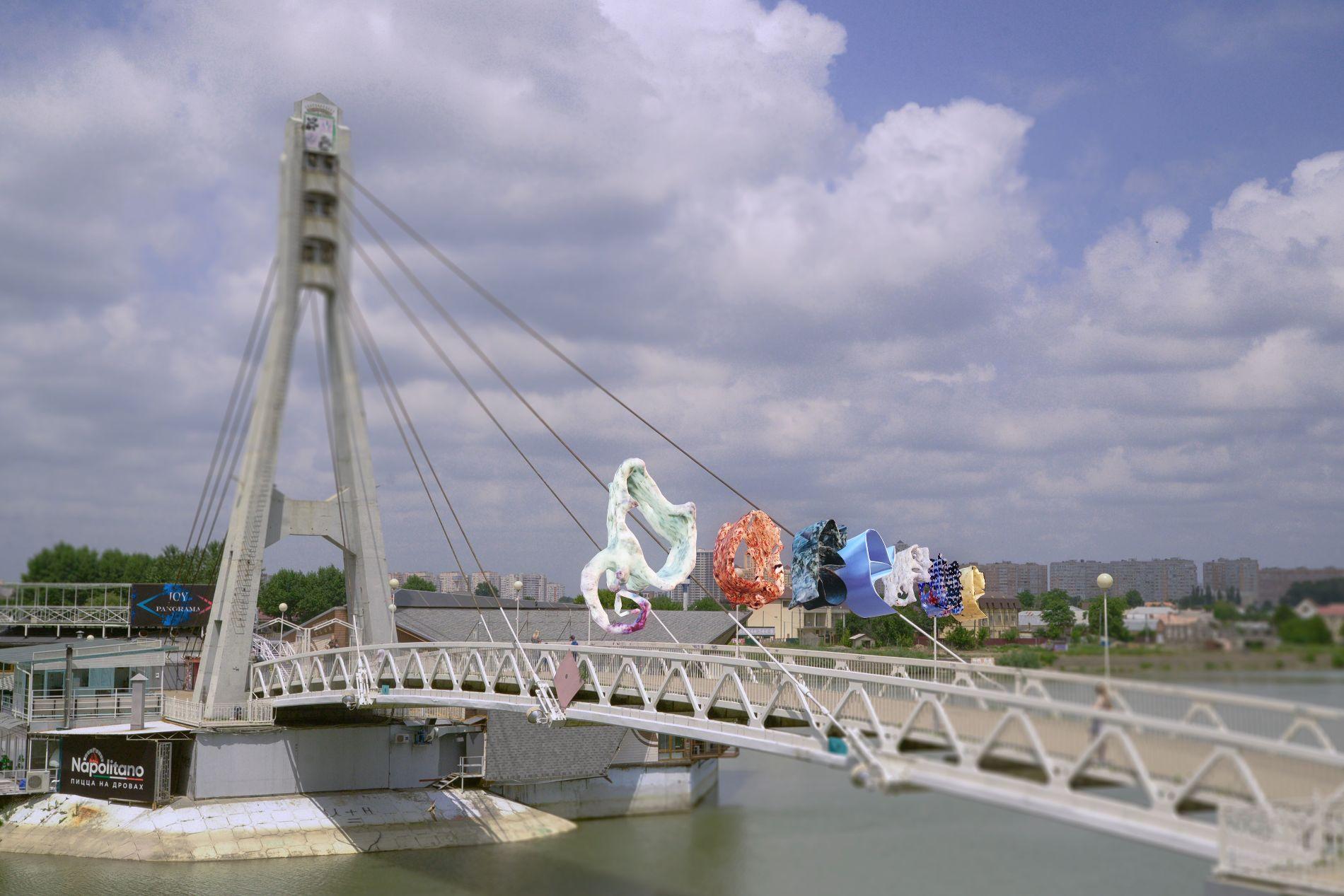 «Доверие», виртуальная скульптура Кирилла Макарова ©Пресс-служба фестиваля Rosbank Future Cities