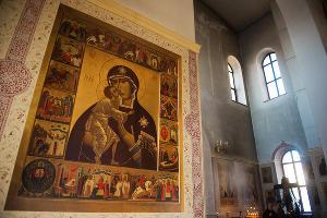 Роспись Спасского кафедрального собора в Пятигорске ©Фото Антона Подгайко, Юга.ру