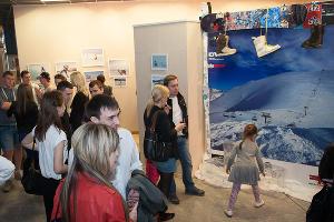 "Выставка зимних фотографий в ТРК ""СИТИ ЦЕНТР"" ©Михаил Ступин, ЮГА.ру"
