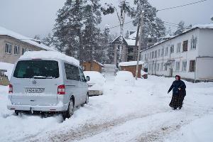 Снегопад в Кабардино-Балкарии ©Антон Подгайко, ЮГА.ру