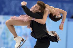 Фигуристы Елена Ильиных и Никита Кацалапов - бронзовые призеры в танцах на льду ©РИА Новости