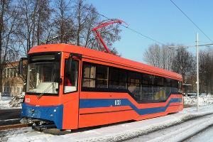 Трамвайный вагон «71-407» ©Фото пресс-службы Уральского завода транспортного машиностроения