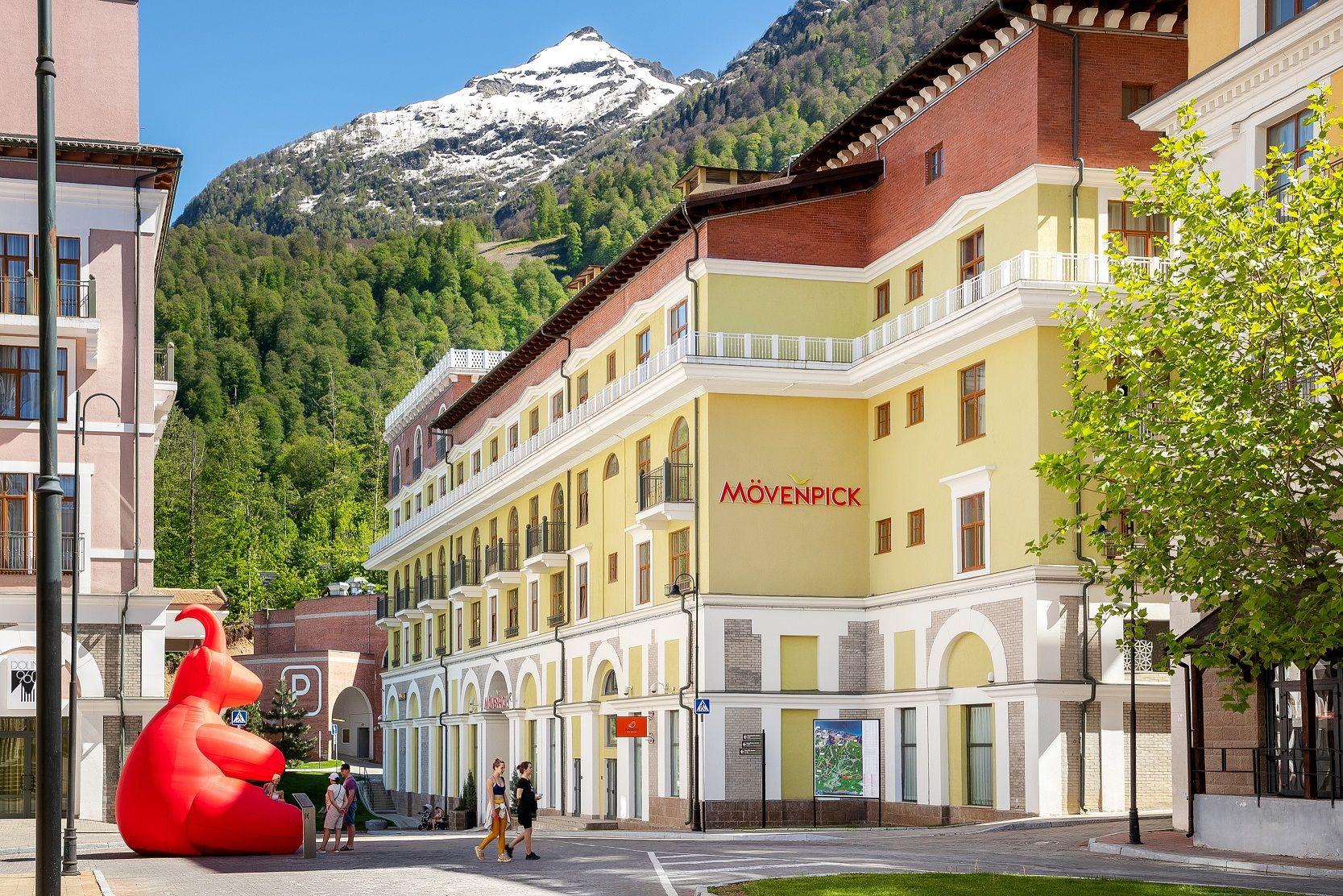 Отель Mövenpick Krasnaya Polyana ©Фото пресс-службы «Курорта Красная Поляна»
