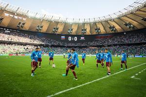Сборная России проиграла Коста-Рике в матче открытия стадиона ФК «Краснодар» ©Фото Елены Синеок, Юга.ру