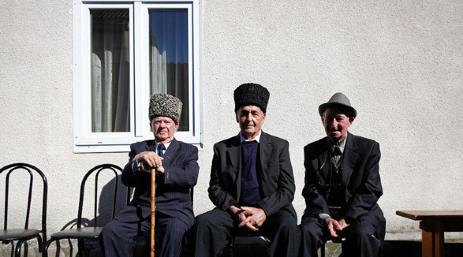 Старейшины международных черкесских обществ в Туапсинском районе ©Влад Александров, ЮГА.ру