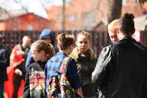Митинг протеста в Вишняковском сквере ©Фото Елены Синеок, Юга.ру