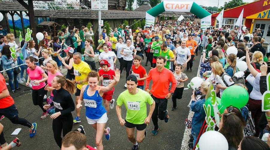 «Зеленый марафон» ©Фото пресс-службы Сбербанка