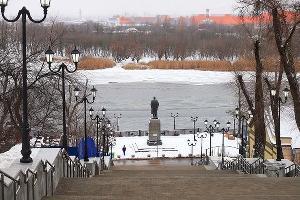 Казанская лестница ©Фото c сайта rostov-gorod.ru