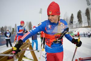 III Всемирные зимние военные игры. Смешанная эстафета на соревнованиях по ориентированию на лыжах ©Фото Никиты Быкова, Юга.ру
