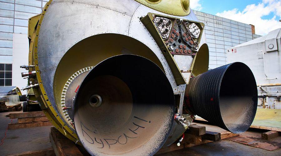 Макет орбитального корабля «Буран» ©Фото пресс-службы администрации Сочи