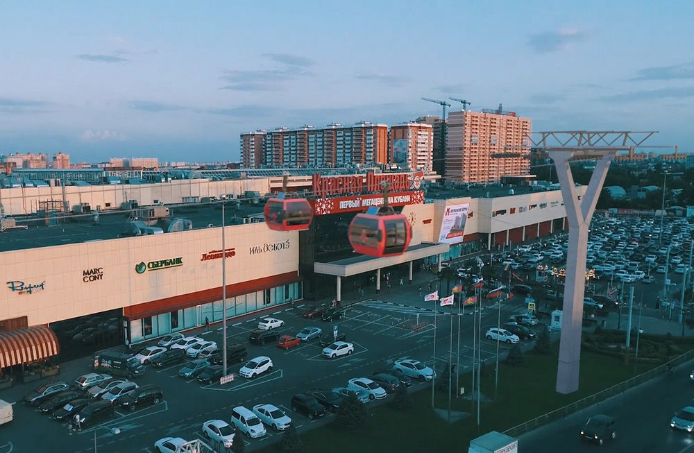 Проект канатного метро в Краснодаре ©Фото пресс-службы администрации Краснодара