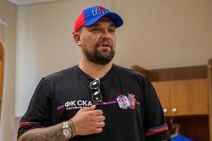 Василий Вакуленко (Баста) ©Фото пресс-службы СКА Ростов-на-Дону