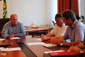 Владимир Путин на совещании в Крымске ©Фото Влада Александрова, Юга.ру
