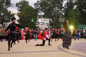 Праздник «Джэгу всех адыгов» в Майкопе ©Фото пресс-службы правительства Республики Адыгея