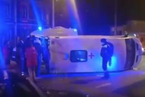 ©Кадр из видео в группе «ЧП Краснодар новости ДТП • Аварии • Происшествия», vk.com/krd_chp