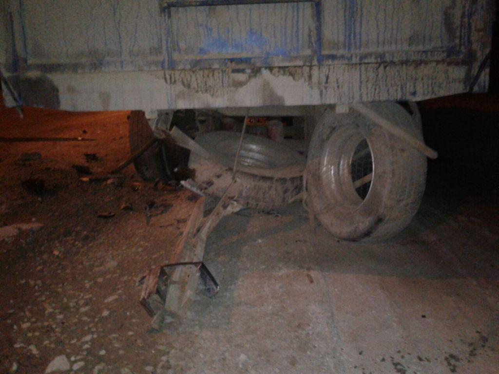 ВНовороссийске пешеход попал под оторвавшееся колесо «КамАЗа»