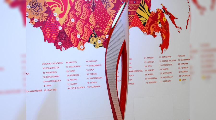 Выставка Олимпийских факелов в Сочи ©Нина Зотина, ЮГА.ру