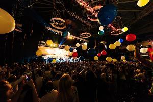 Выступление группировки «Ленинград» в Сочи. Дворец зимнего спорта «Айсберг», август 2017 г. ©Фото Игоря Грипаса