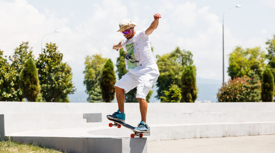 «Скейт — это на всю жизнь»