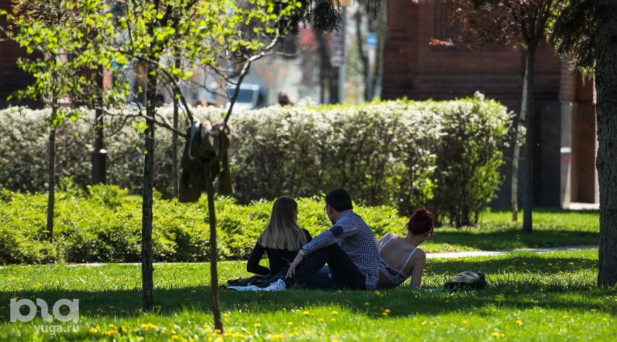 Как цветет Краснодар весной ©Фото Елены Синеок, Юга.ру