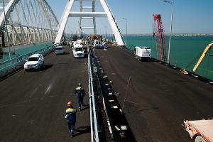Крымский мост ©Фото Виталия Тимкива, Юга.ру