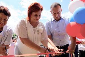 Открытие нового фельдшерско-акушерского пункта в Кореновском районе ©Фото с сайта kubzsk.ru