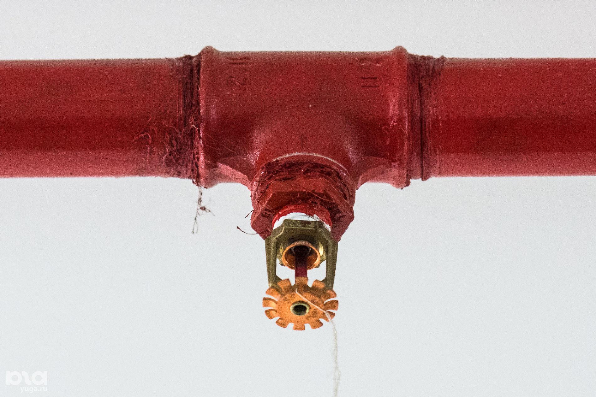 Сплинкерная система пожаротушения ©Фото Елены Синеок, Юга.ру