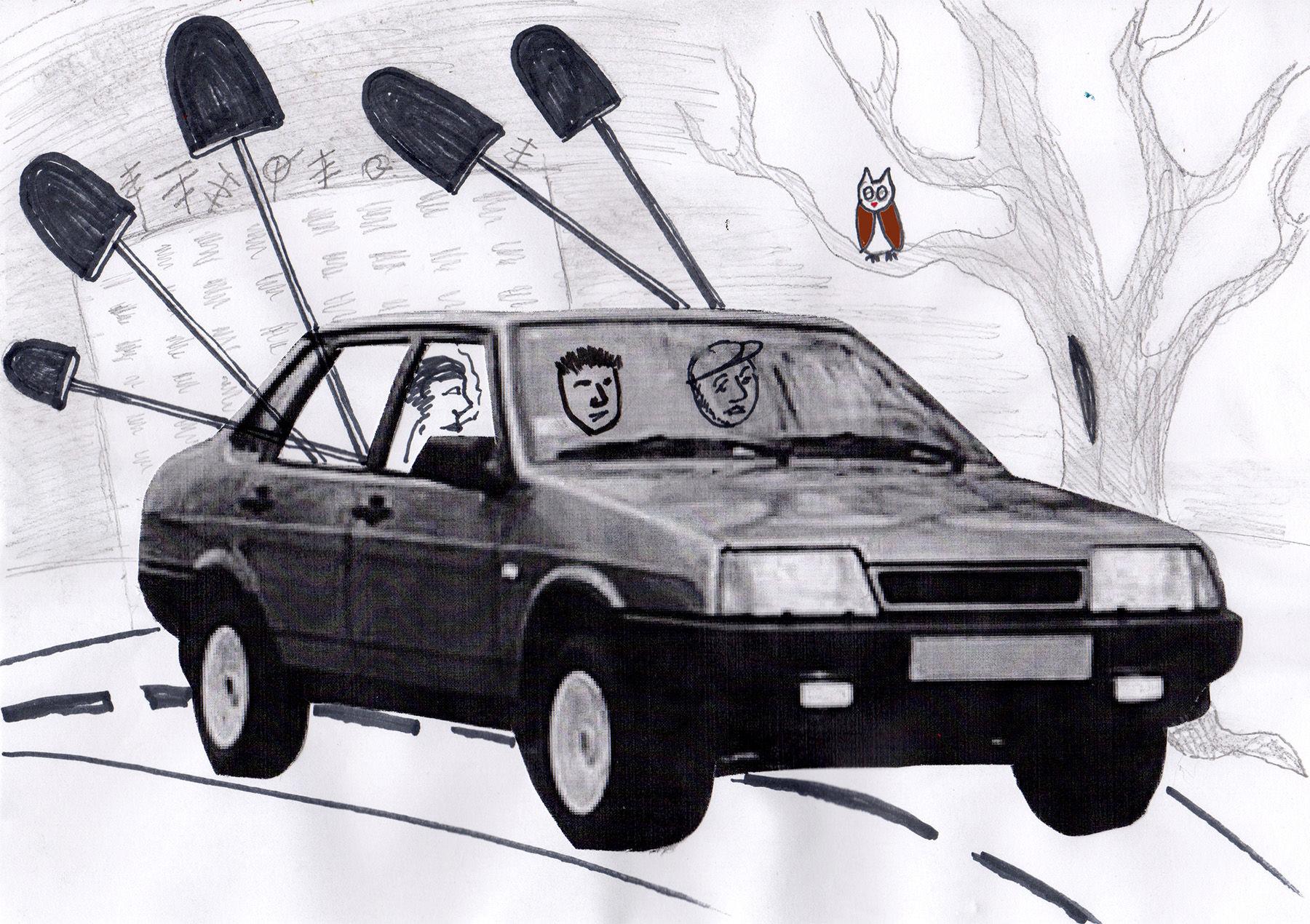 Монолог копача ©Иллюстрация арт-группировки ЗИП специально для Юга.ру